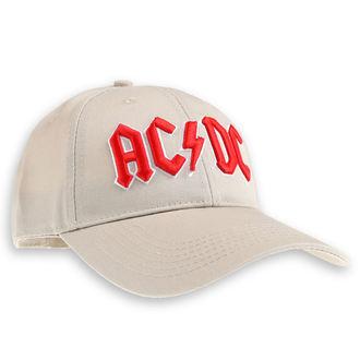 AC  /  DC Sapka - Red Logo Sand - ROCK OFF, ROCK OFF, AC-DC
