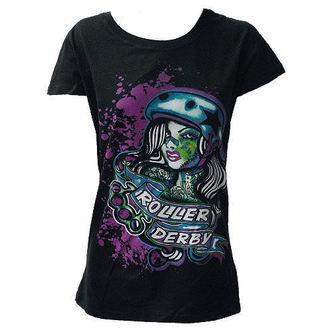 póló női - Roller Derby - DARKSIDE, DARKSIDE