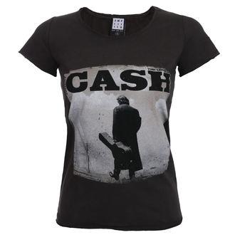 metál póló női Johnny Cash - WALKING LEGEND - AMPLIFIED, AMPLIFIED, Johnny Cash
