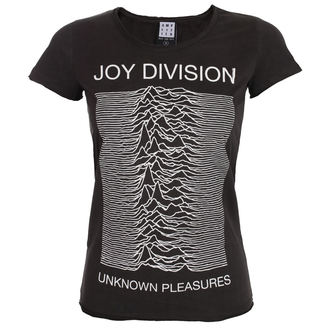 metál póló női Joy Division - UNKNOWN PLEASURES - AMPLIFIED, AMPLIFIED, Joy Division