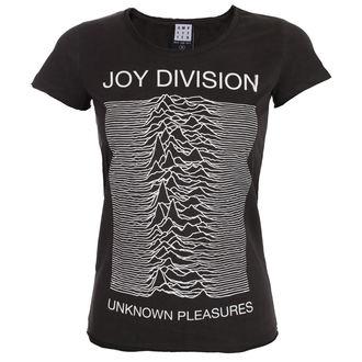 metál póló női Joy Division - UNKNOWN PLEASURES - AMPLIFIED - ZAV601JDU