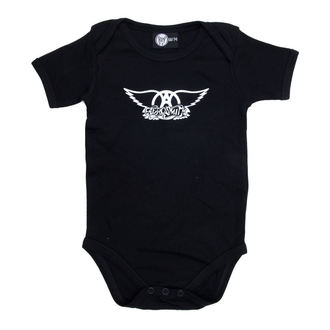 tipegő gyermek Aerosmith - Logo - Black, Metal-Kids, Aerosmith