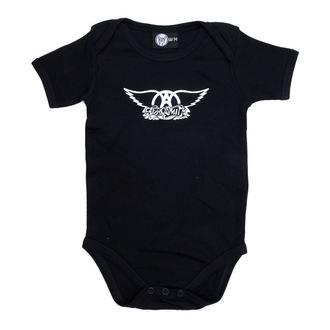 tipegő gyermek Aerosmith - Logo - Black, Metal-Kids, Aerosmith