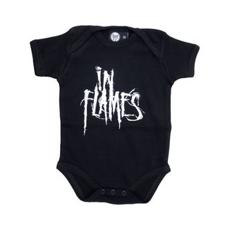 tipegő gyermek In Flames - Logo - Black, Metal-Kids, In Flames
