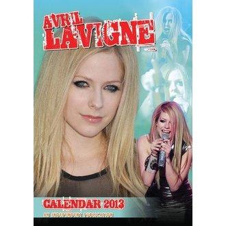 naptár  év 2013 Avril Lvigne, Avril Lavigne