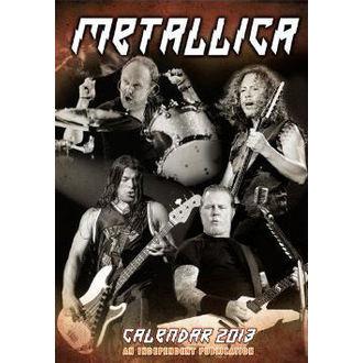 naptár  év 2013 Metllic, Metallica