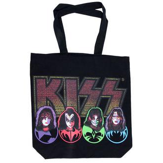 KISS táska (kézitáska) - KISSTOTE01, ROCK OFF, Kiss