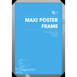 keret  poszter (61x91,5 cm) - Silver - GB Posters, GB posters