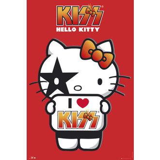 poszter Hello Kitty - Kiss I Love - GB Posters, HELLO KITTY, Kiss