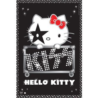 poszter Hello Kitty - Kiss Tour - GB Posters, HELLO KITTY, Kiss