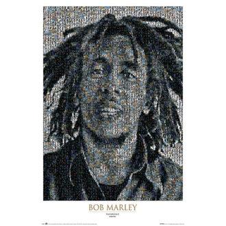 Bob Marley poszter - Mosaic II - GB Posters, GB posters, Bob Marley