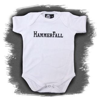 tipegő gyermek Hammerfall - Logo - White, Metal-Kids, Hammerfall