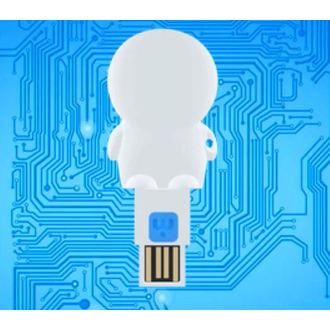 USB olvasó micro SD kártyaolvasó (flash lemez) - STAR WARS - Yoda