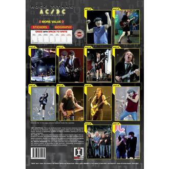 naptár  év 2013 - AC / DC, AC-DC