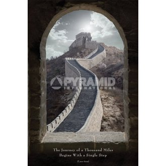 poszter Journey Of Of Thousand Miles - Pyramid Posters, PYRAMID POSTERS
