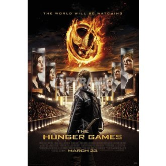 poszter NECA - Hunger Games - Pyramid Posters, PYRAMID POSTERS
