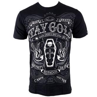hardcore póló férfi - Stay Gold - LIQUOR BRAND, LIQUOR BRAND