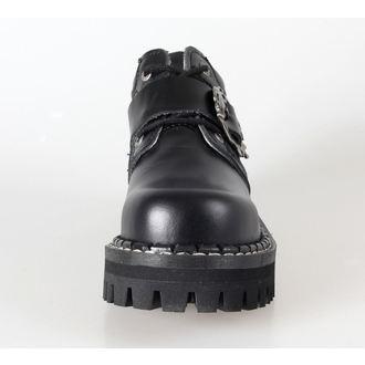 KMM cipő 4dírkové - Big Skull Black Full, KMM
