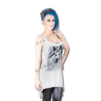 SPIRAL női ruha - Wolf - White, SPIRAL