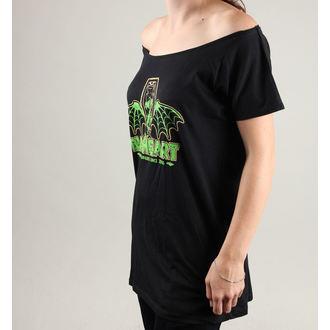 utcai póló női - MARLIN, BLACK HEART