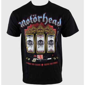 metál póló férfi Motörhead - Slots - ROCK OFF, ROCK OFF, Motörhead