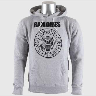kapucnis pulóver férfi Ramones - Seal Logo Gry - BRAVADO EU, BRAVADO EU, Ramones