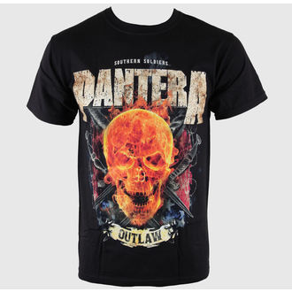 metál póló férfi Pantera - Outlaw Skull - BRAVADO, BRAVADO, Pantera