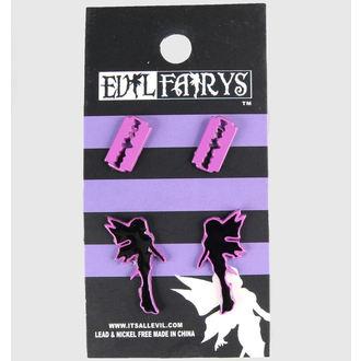 fülbevaló POIZEN INDUSTRIES - EFES1 - Fairy & Razorblade, EVIL FAIRYS
