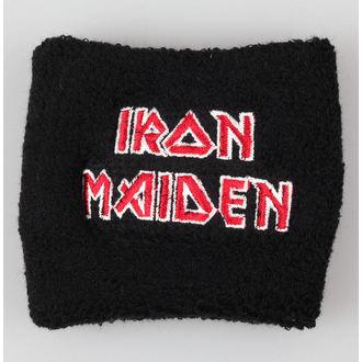 IRON MAIDEN csuklóvédő (izzadtságtörlő) - Logo - The Final Frontier - RAZAMATAZ, RAZAMATAZ, Iron Maiden