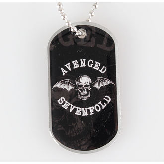Avenged Sevenfold nyaklánc (dögcédula) - Death Bat - RAZAMATAZ, RAZAMATAZ, Avenged Sevenfold