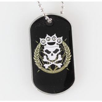 Five Finger Death Punch nyaklánc (dögcédula) - Knuckle Crown - RAZAMATAZ, RAZAMATAZ, Five Finger Death Punch