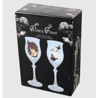 pohár (készlet 2 darab) Victoria Frances - Buterfly U. Buterfly, VICTORIA FRANCES, Victoria Francés