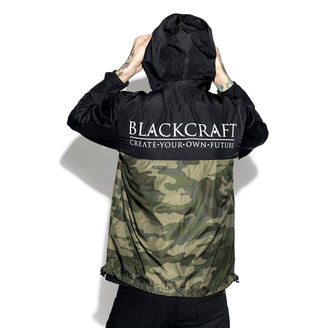tavaszi/őszi dzseki unisex - Staple Black on Camo - BLACK CRAFT, BLACK CRAFT