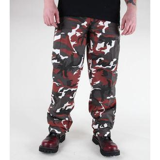 MIL-TEC férfi nadrág - US Ranger Hose - BDU Red Camo, MIL-TEC
