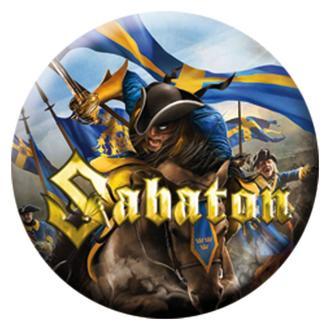 Sabaton kitűző - Carolus Rex - Linited, NUCLEAR BLAST, Sabaton