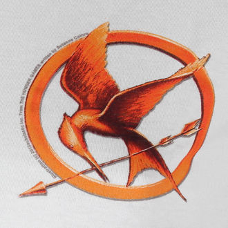 filmes póló női Hunger Games - Mocking Jay Pin - LIVE NATION, LIVE NATION