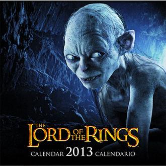 naptár  év 2013 Ur gyűrűk - English & Spnyol Változt