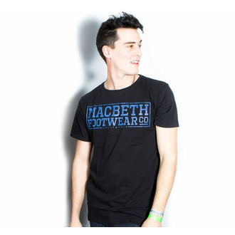 utcai póló férfi - Embossed - MACBETH, MACBETH