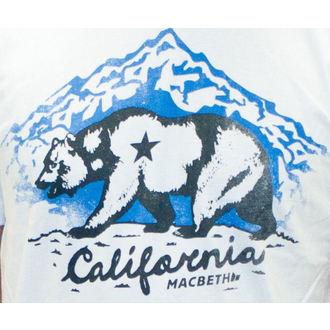 utcai póló férfi - California - MACBETH, MACBETH