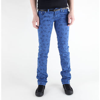 nadrág női 3RDAND56th - Swallow Skinny Jeans - JM1118 - ROYAL