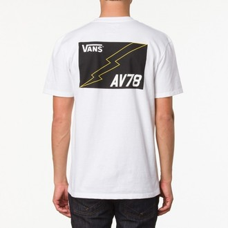 póló férfi VANS - AV78 pocket Tee - White, VANS