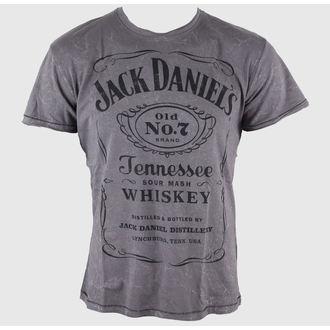 utcai póló férfi Jack Daniels - Acid Washed - JACK DANIELS, JACK DANIELS