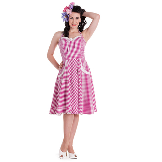 ruha női HELL BUNNY - Charlotte - Pink, HELL BUNNY