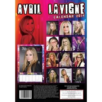 naptár  év 2014 Avril Lvigne, Avril Lavigne