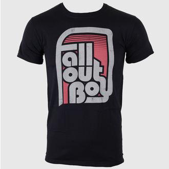 metál póló férfi Fall Out Boy - Retro Black - LIVE NATION, LIVE NATION, Fall Out Boy