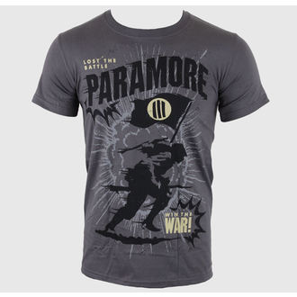 metál póló férfi Paramore - Minifield Charcoal - LIVE NATION, LIVE NATION, Paramore