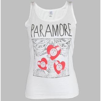 trikó női Paramore - X Ray White - LIVE NATION, LIVE NATION, Paramore