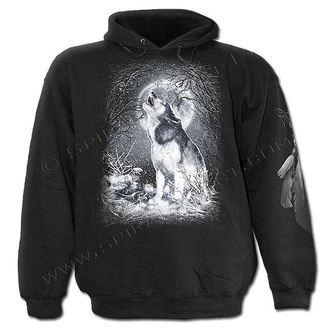 kapucnis pulóver gyermek - White Wolf - SPIRAL, SPIRAL