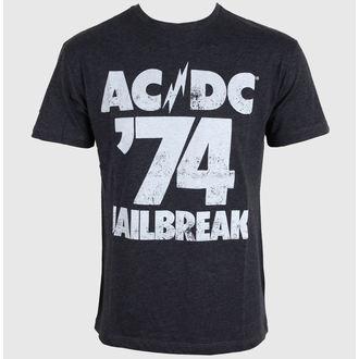 metál póló férfi AC-DC - AC/DC - AMPLIFIED - ZAV210A74