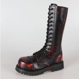 cipő GRINDERS - 14 lyukú - High Ranger, GRINDERS